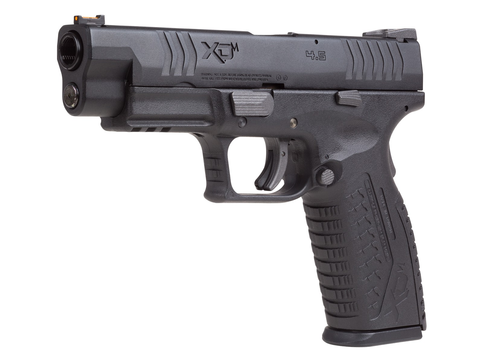 Springfield Armory XDM 4 5  177 cal  CO2 Blowback, Black