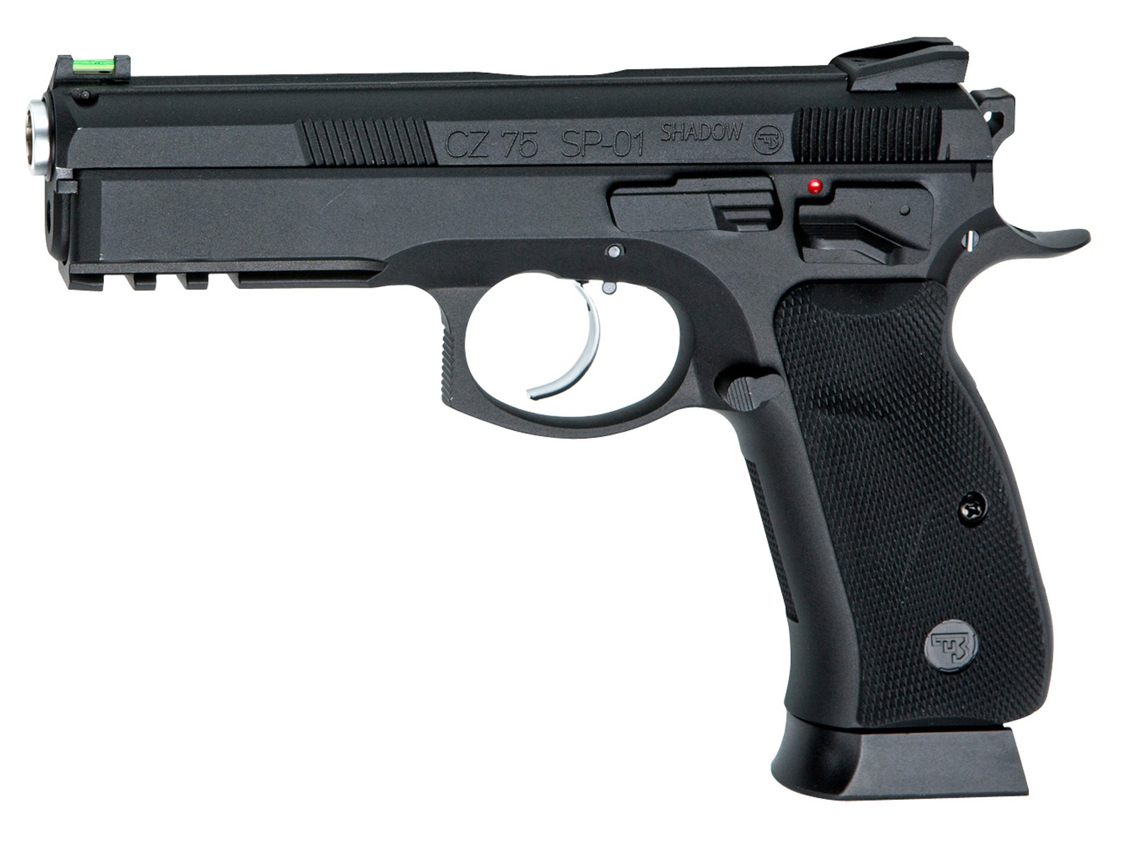 ASG CZ-75 SP-01 Shadow, CO2 Full-Metal BB Pistol 0.177