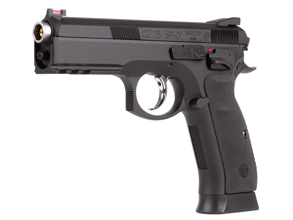 ASG CZ-75 SP-01 Shadow, CO2 Full-Metal BB Pistol 0.177
