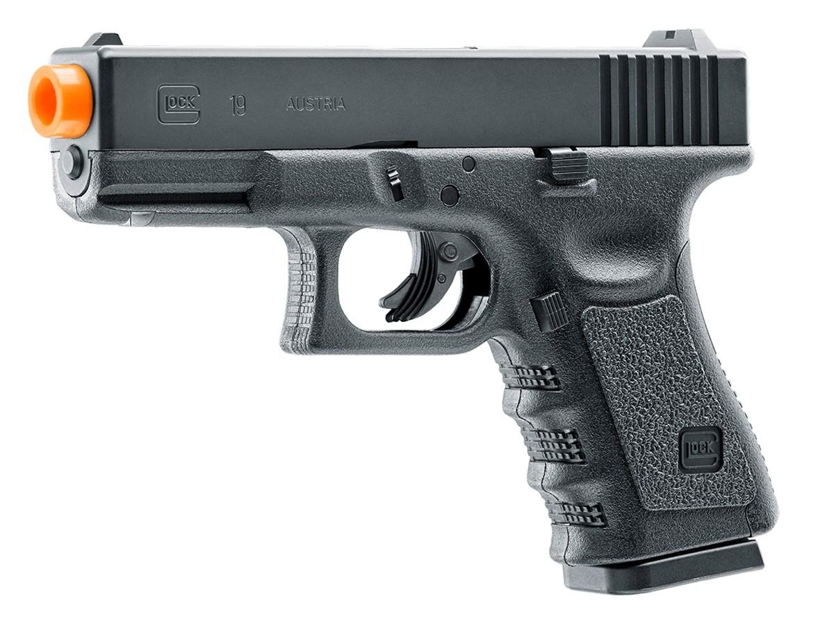 Cheap Glock G19 Gen3 CO2 Non-Blowback Airsoft Pistol 6mm