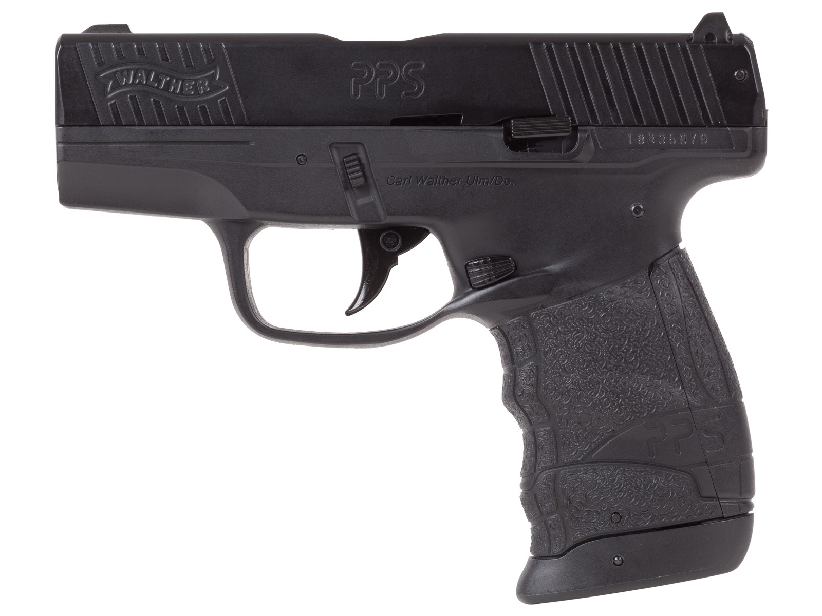 Walther PPS M2 Blowback Compact CO2 BB Air Pistol 0.177 Image
