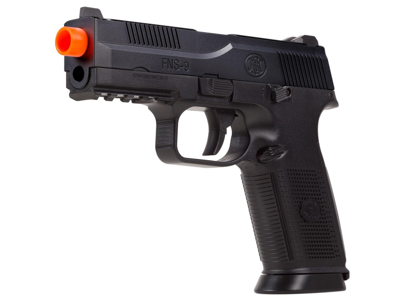 Pistolet Airsoft FN Herstal FNS-9 à ressort, noir 6 mm