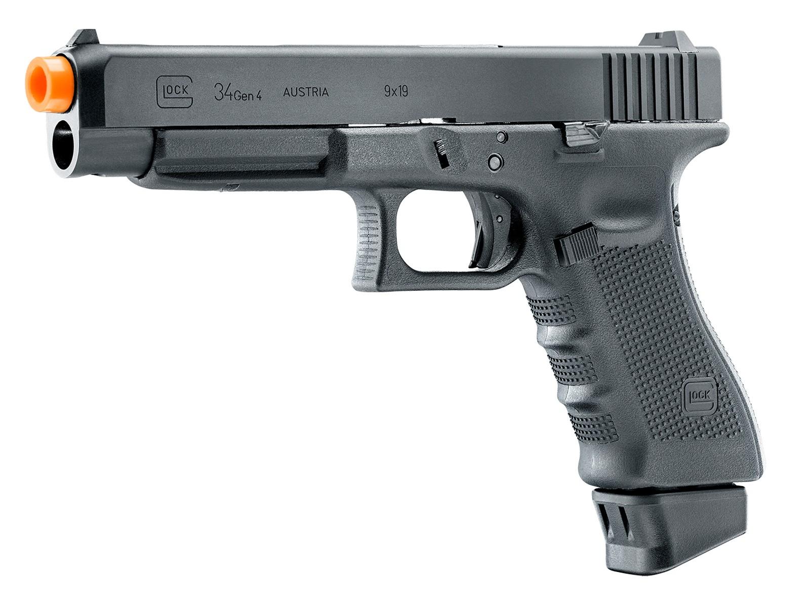 Umarex Glock G34 Gen4 Deluxe CO2 airsoft Pistol, Black