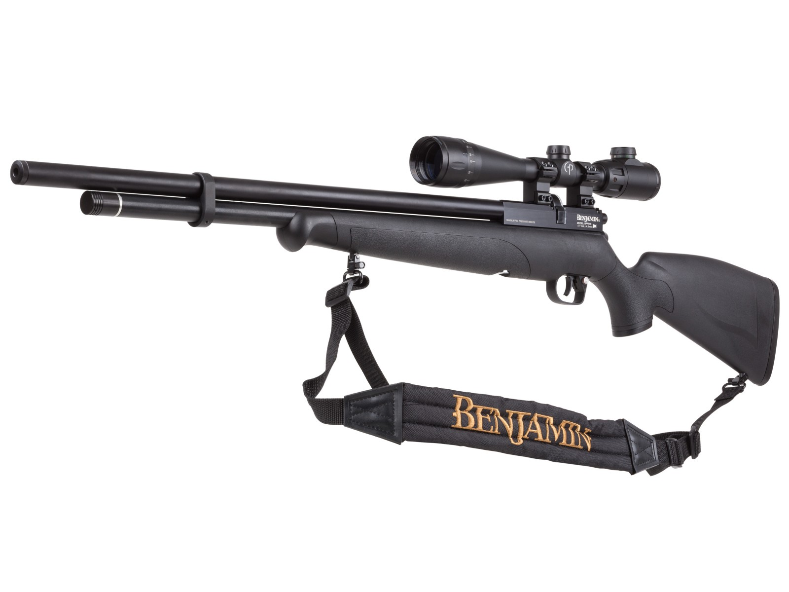 Cheap Benjamin Fortitude Combo, Regulated PCP Air Rifle 0.177