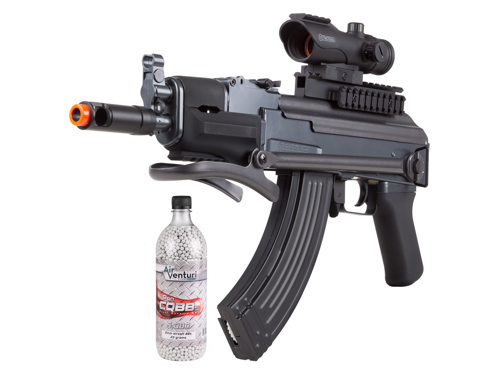 Game Face GF76 AEG Airsoft Rifle Kit, Black