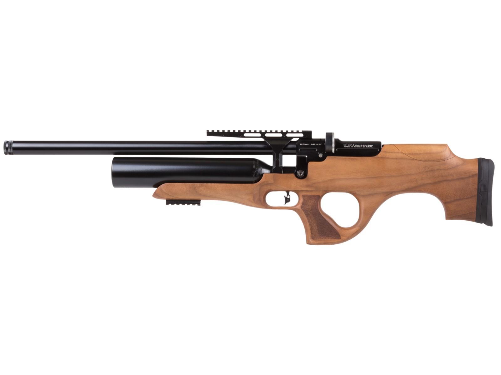 Kral Puncher Knight W PCP Air Rifle, Turkish Walnut Stock