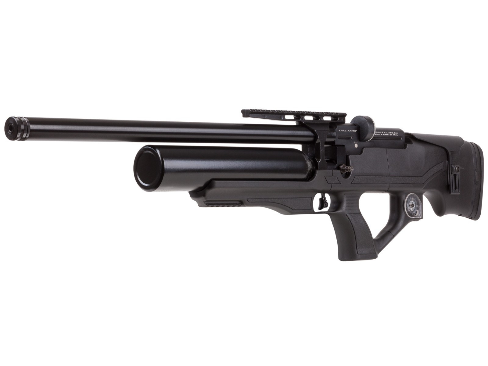 Kral Puncher Knight S PCP Air Rifle, Synthetic Stock 0.22 Image