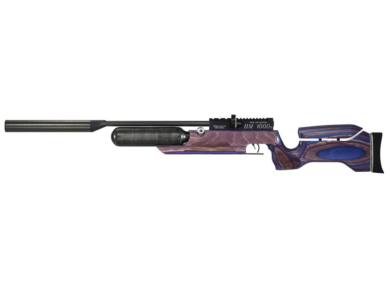 RAW HM1000x LRT Air Rifle, Blue Laminate 0.22
