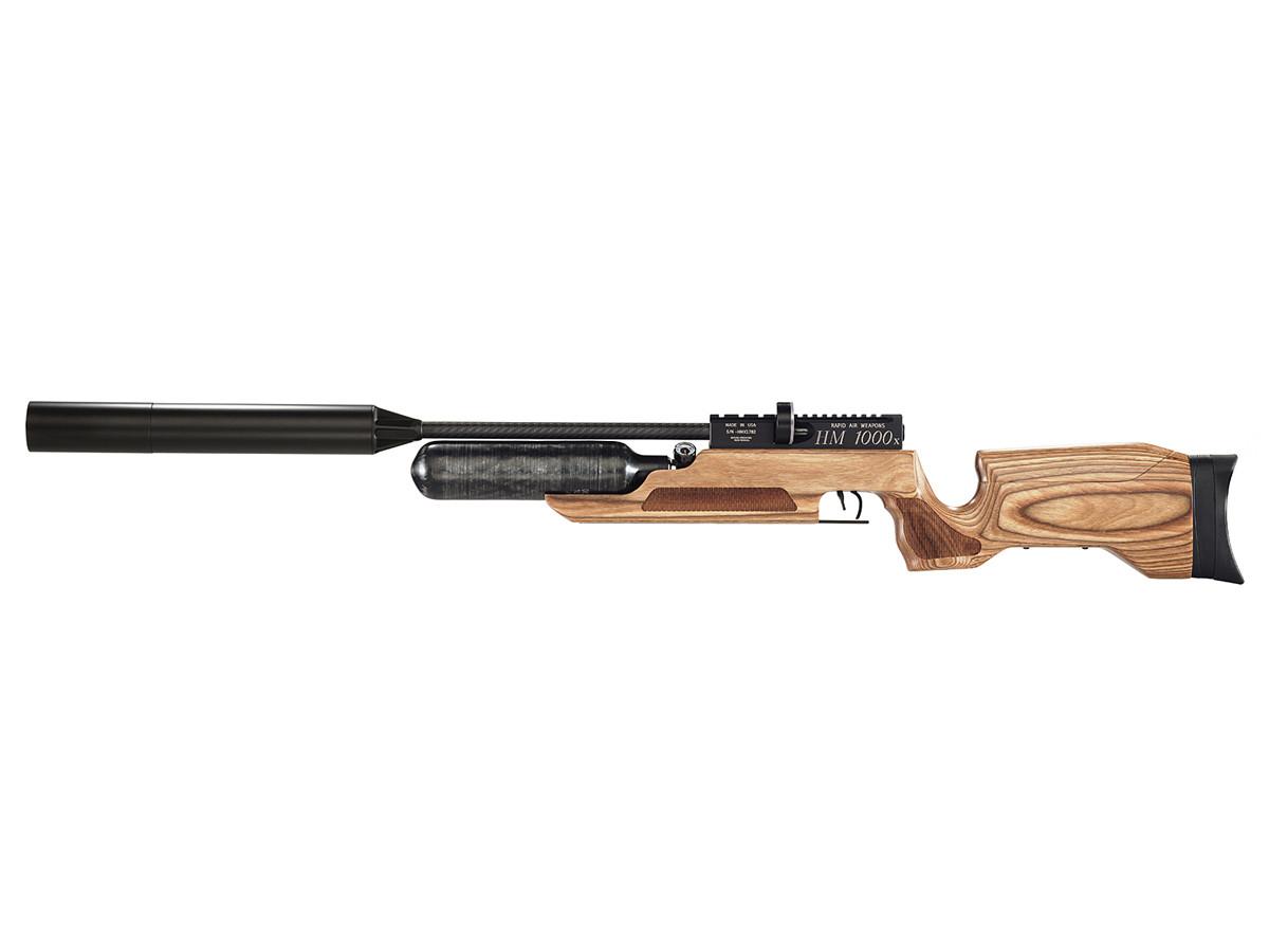 RAW HM1000x LRT PCP Air Rifle, Tan Laminate 0.25