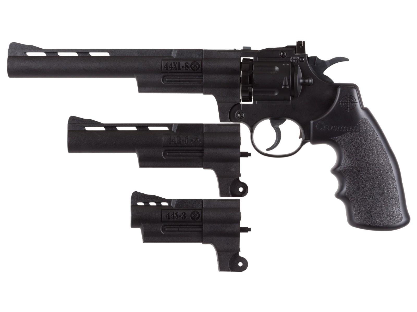 Cheap Crosman Triple Threat CO2 Revolver Kit 0.177