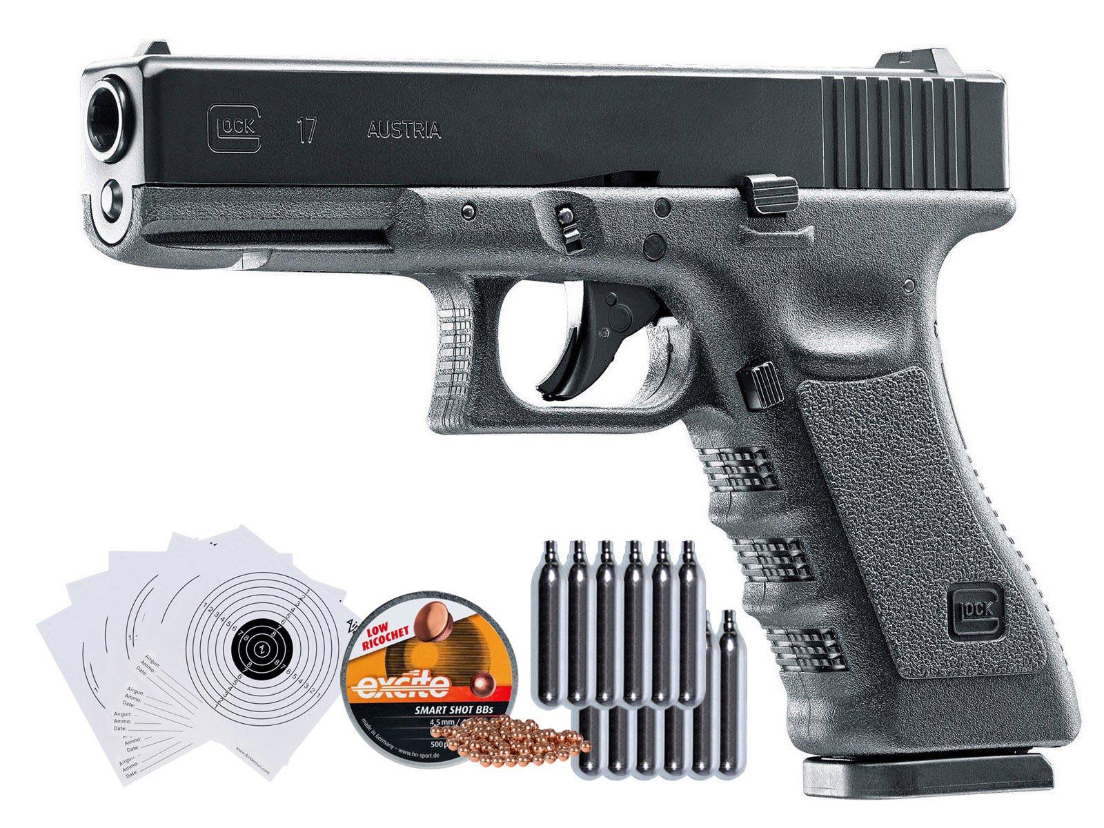 Cheap Umarex Glock 17 Gen3 CO2 Blow Back .177 BB Gun Kit 0.177