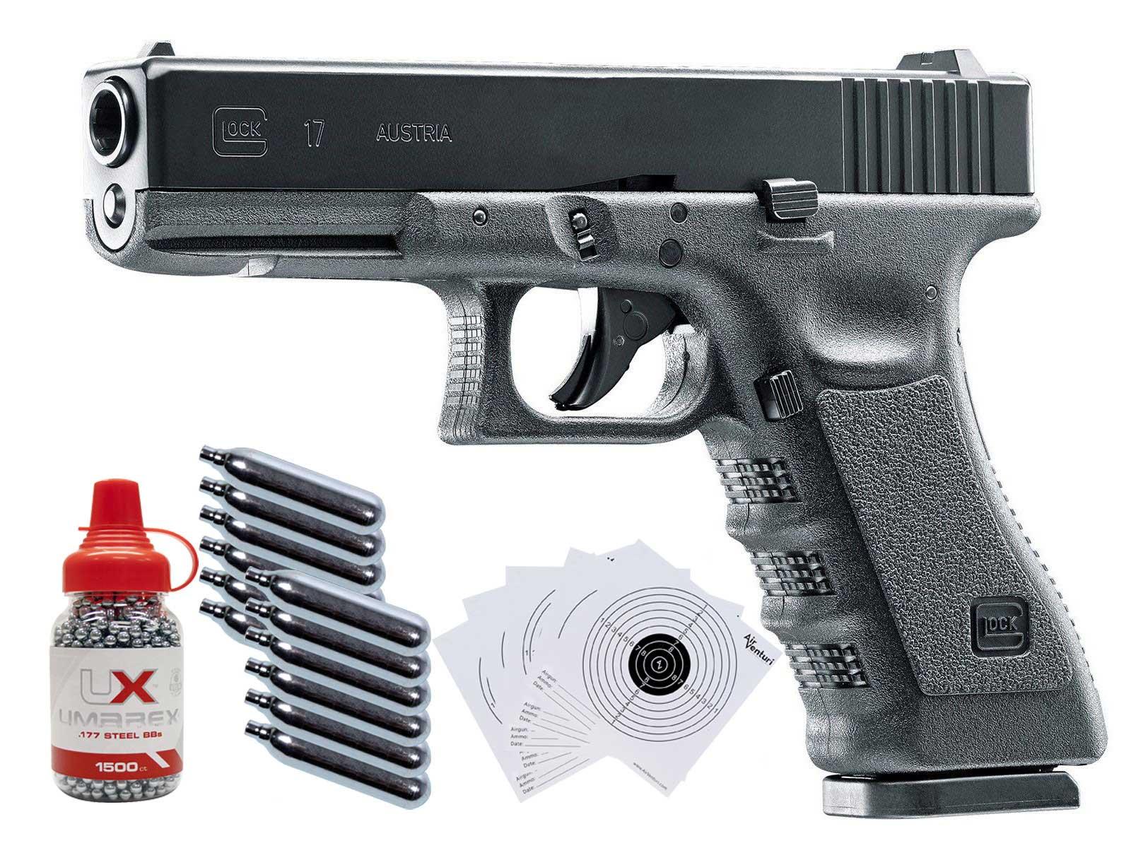Umarex Glock 17 Gen3 CO2 Blow Back .177 BB Gun Kit