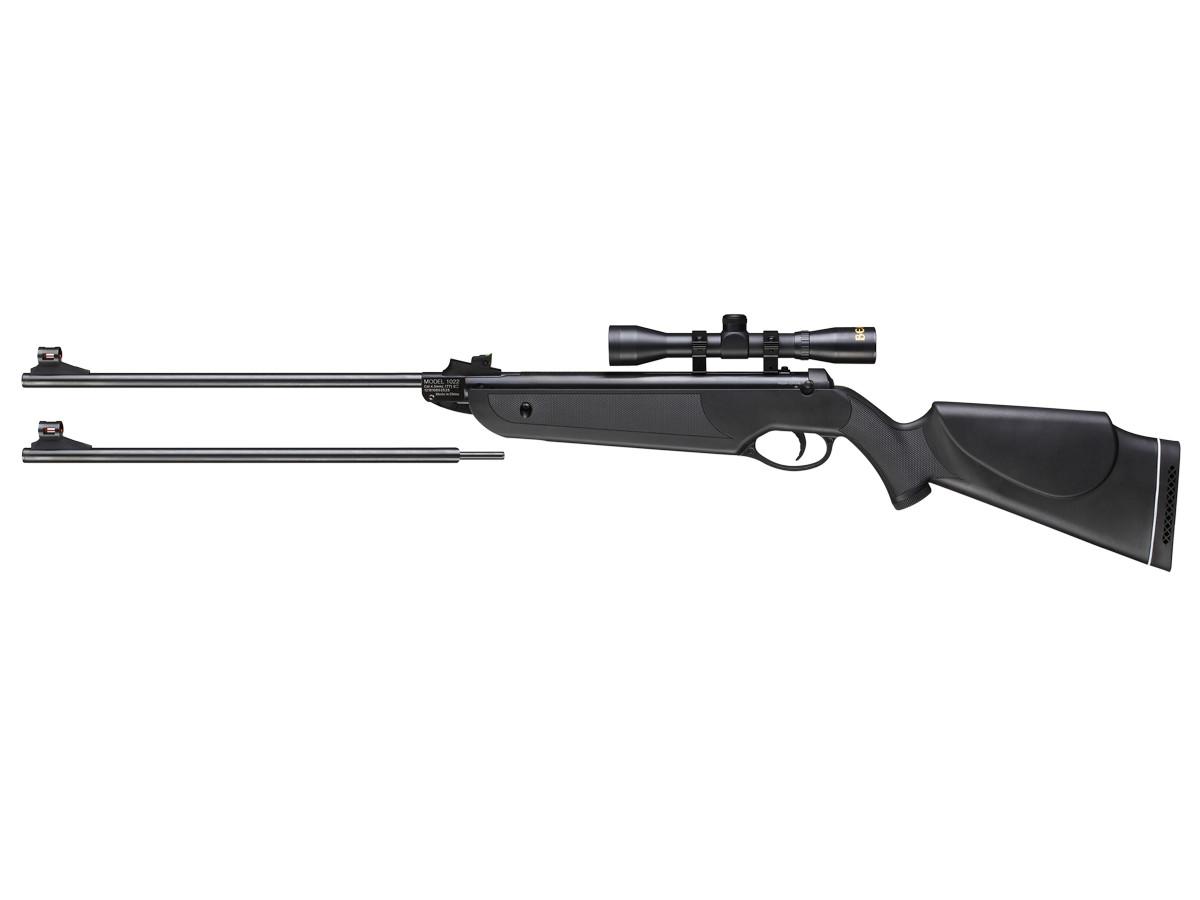 Beeman Black Cub Dual Caliber Air Rifle Combo