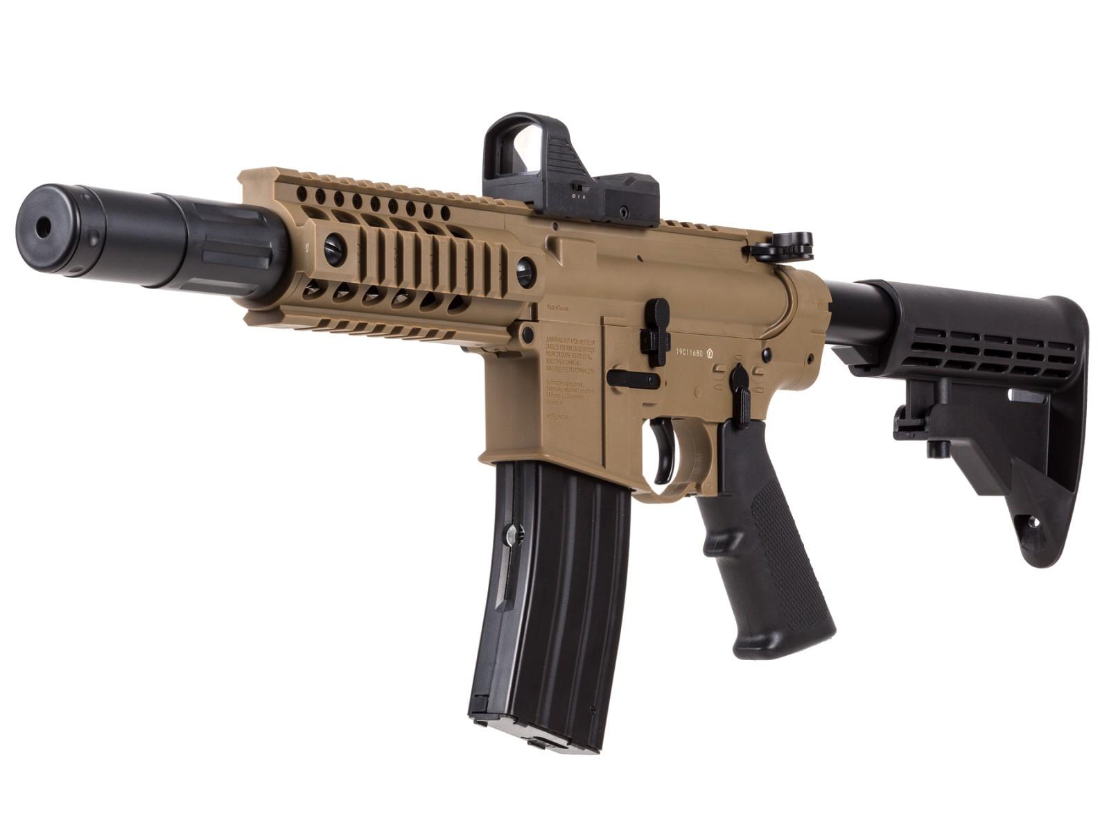 Cheap Crosman Bushmaster MPW Full Auto BB Gun 0.177