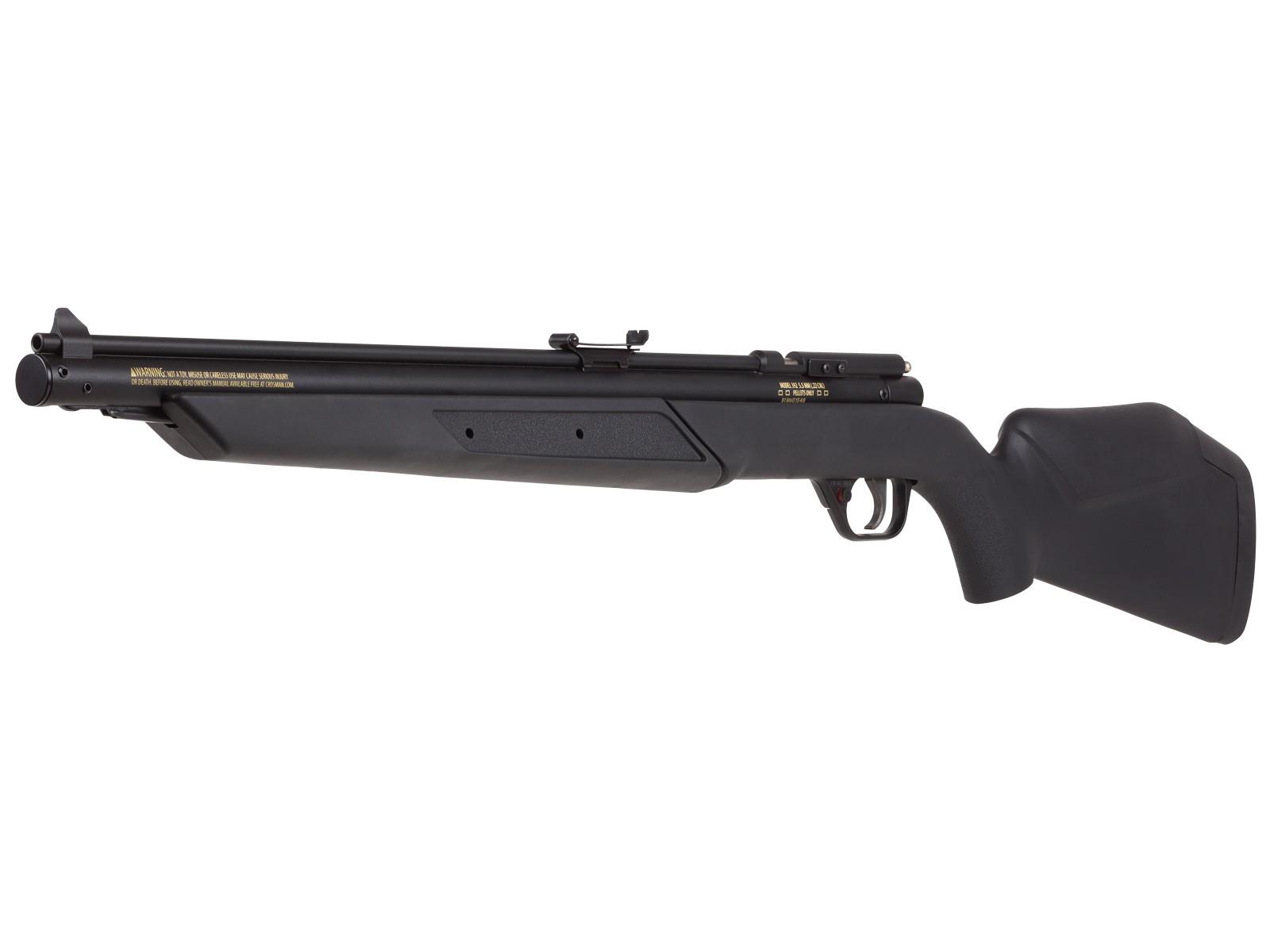 Benjamin Variable Pump Air Rifle, Black 0.177