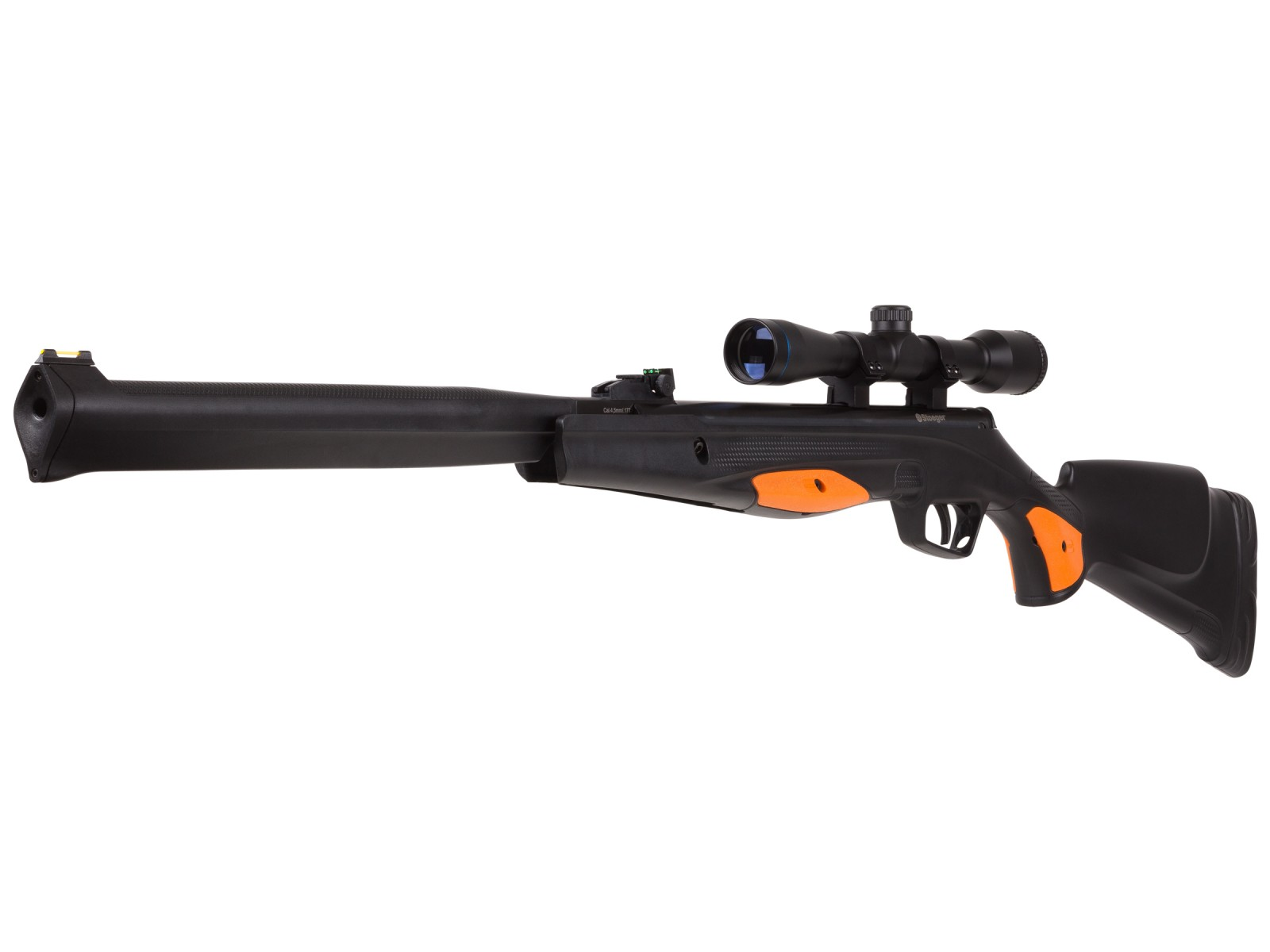 Cheap Stoeger S4000-E Black Synthetic Suppressed Rifle/Scope Combo 0.177