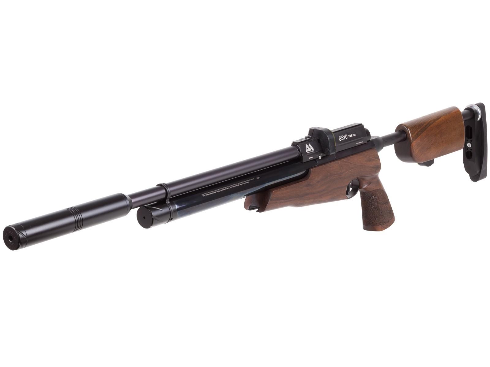 Cheap Air Arms S510 TDR PCP Air Rifle, FAC, Walnut 0.22