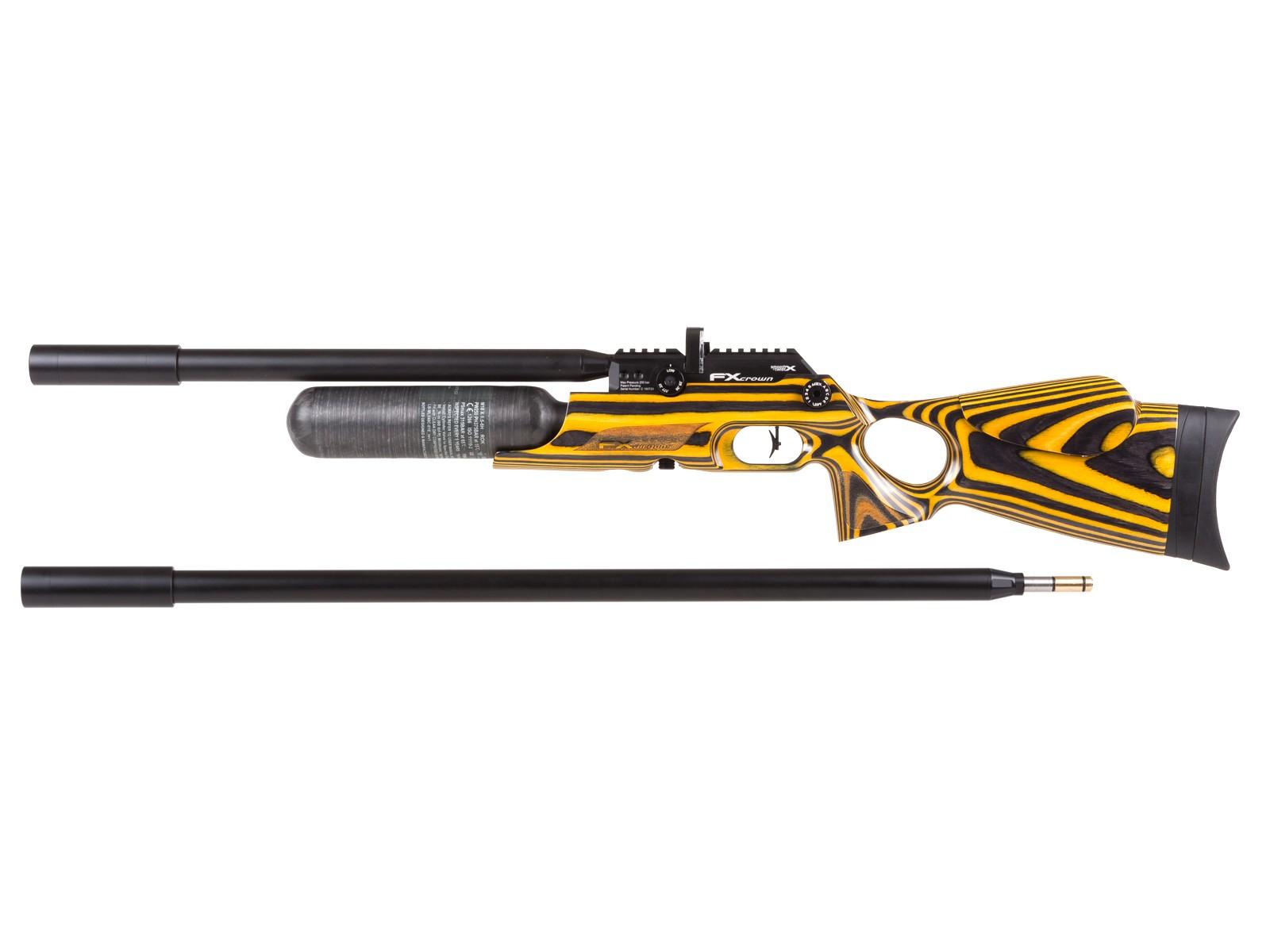 FX Crown Continuum PCP Air Rifle, Yellowjacket Laminate 0.25