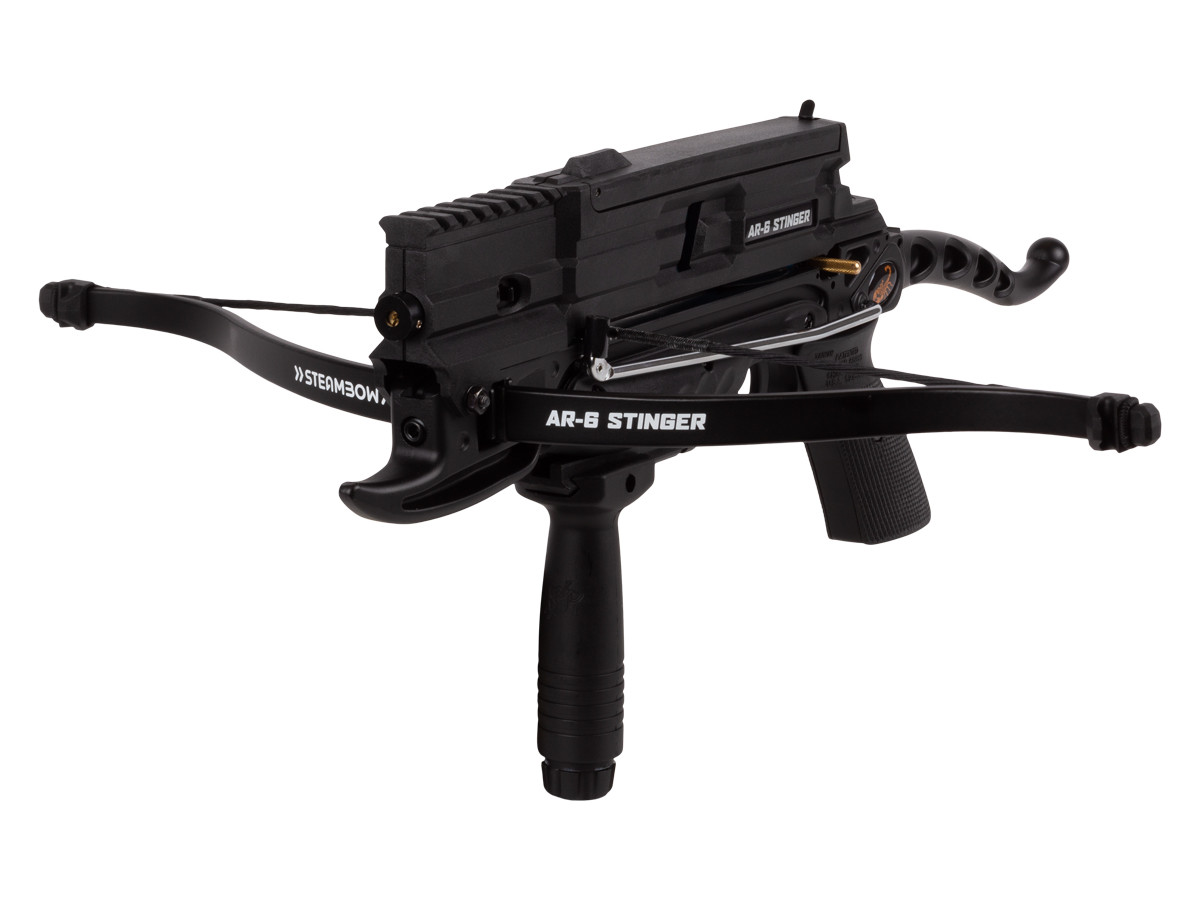 Sen-X AR-6 Tactical Arrow Repeating Crossbow by Steambow