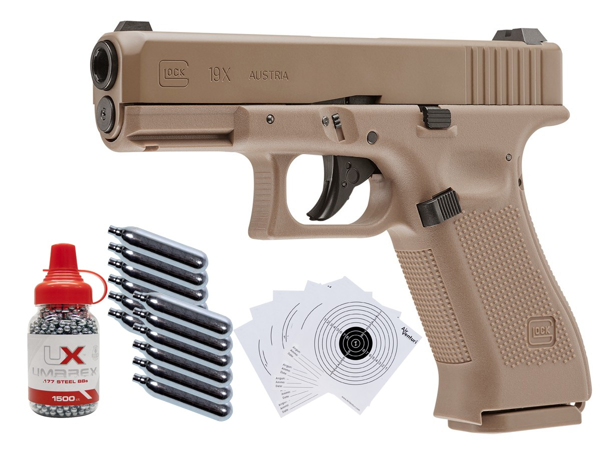 Glock 19X CO2