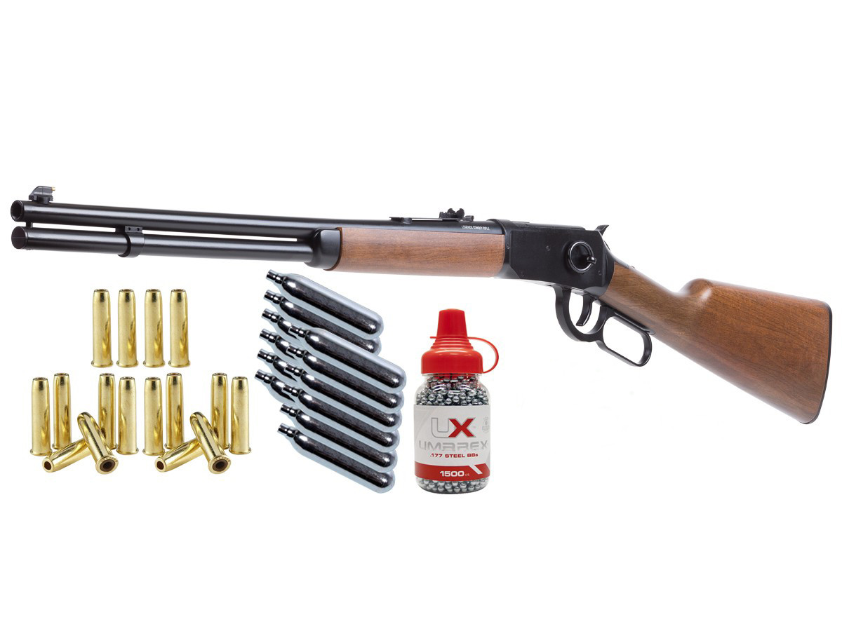 Umarex Legends Cowboy Lever Action Rifle Kit 0.177 thumbnail