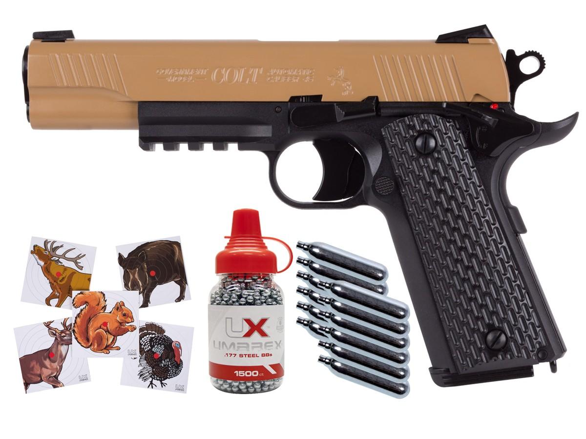 Colt M45 CQBP CO2 Blowback Pistol Kit 0.177