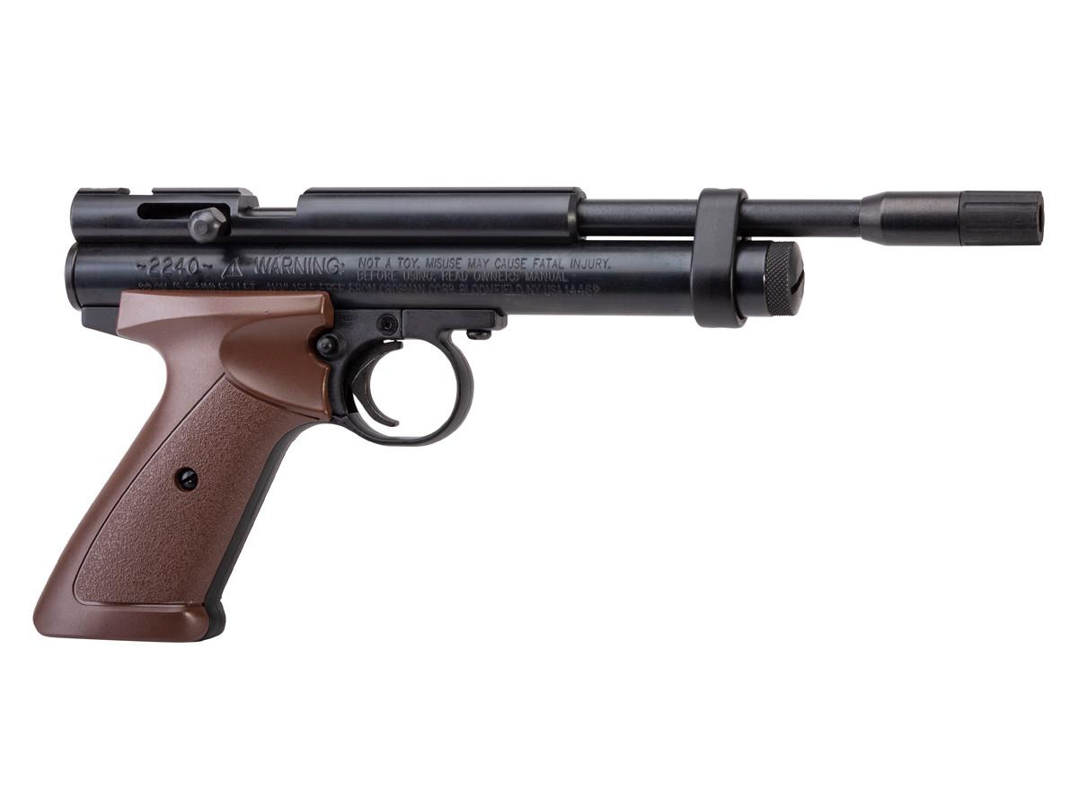 Crosman 2240XL CO2 Air Pistol, .22 cal, Steel Breech 0.22