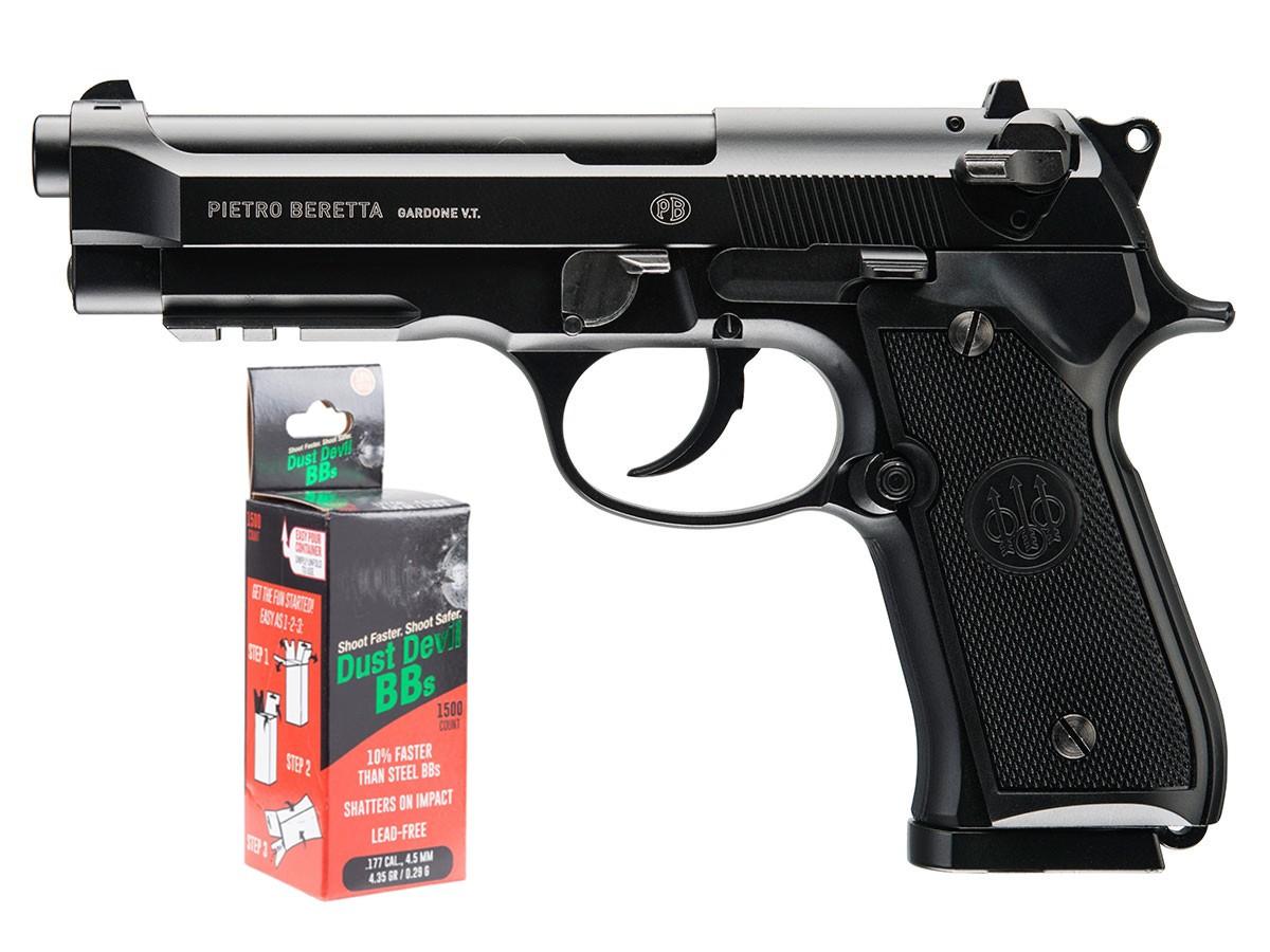 Beretta 92A1 CO2 Full Auto BB Pistol Kit 0.177