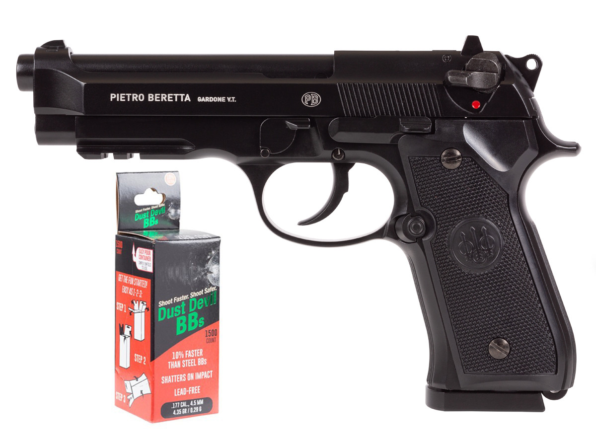 Beretta 92A1 CO2 Full Auto BB Pistol Kit 0.177