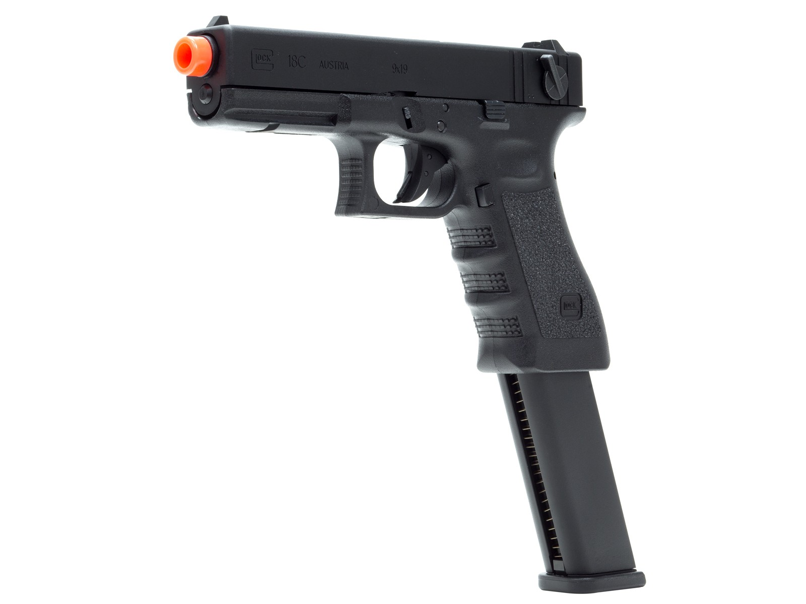 GLOCK G18C Gen3 GBB Airsoft Pistol w/ Extended Mag