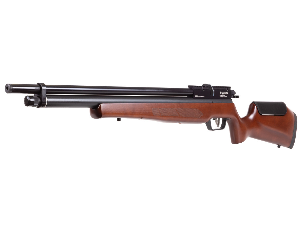 Benjamin Marauder Semi-Auto (SAM) PCP Air Rifle, Wood Stock 0.22