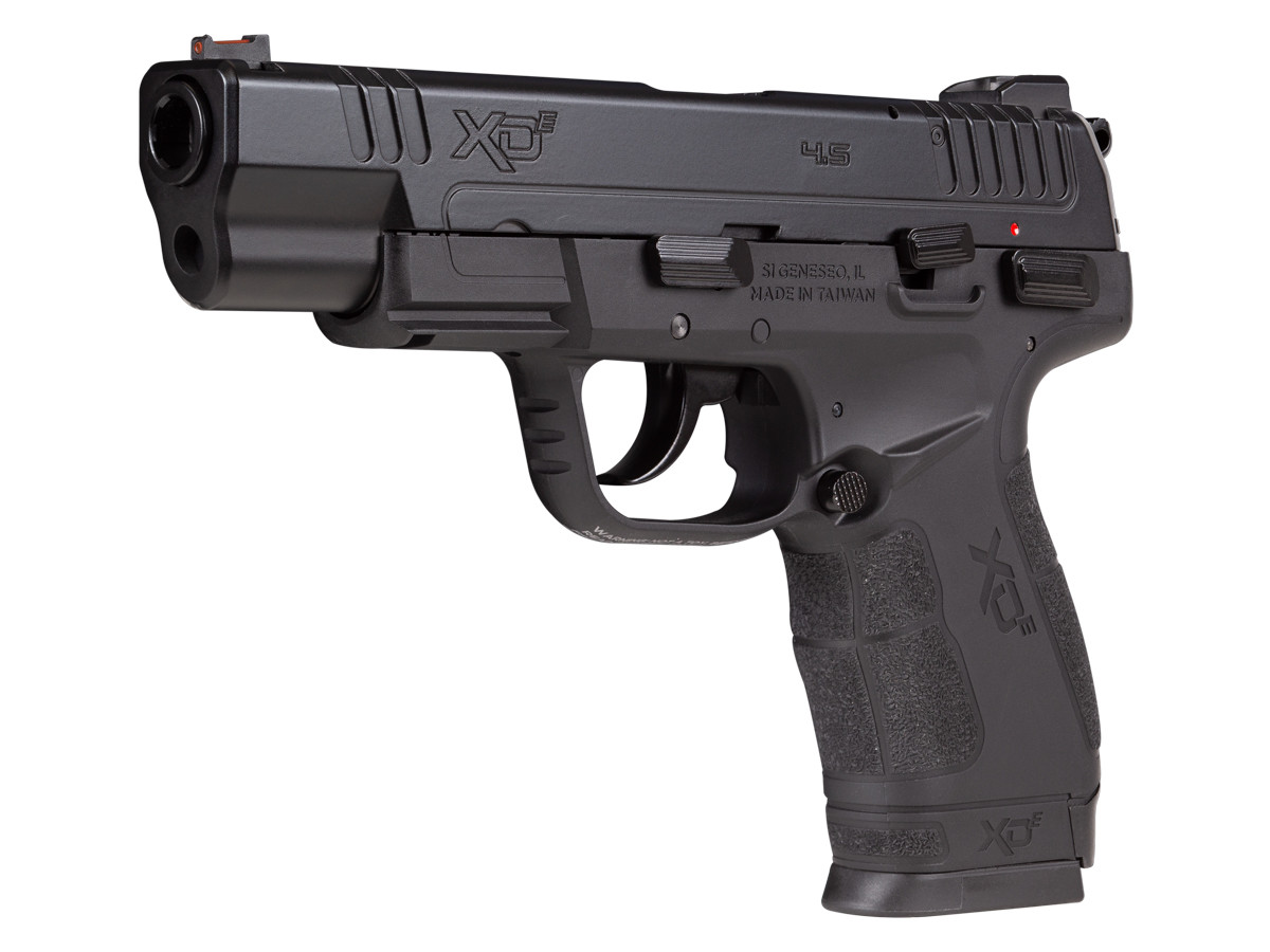 Springfield Armory XDE 4.5″ .177 cal. CO2 Blowback BB Pistol 0.177