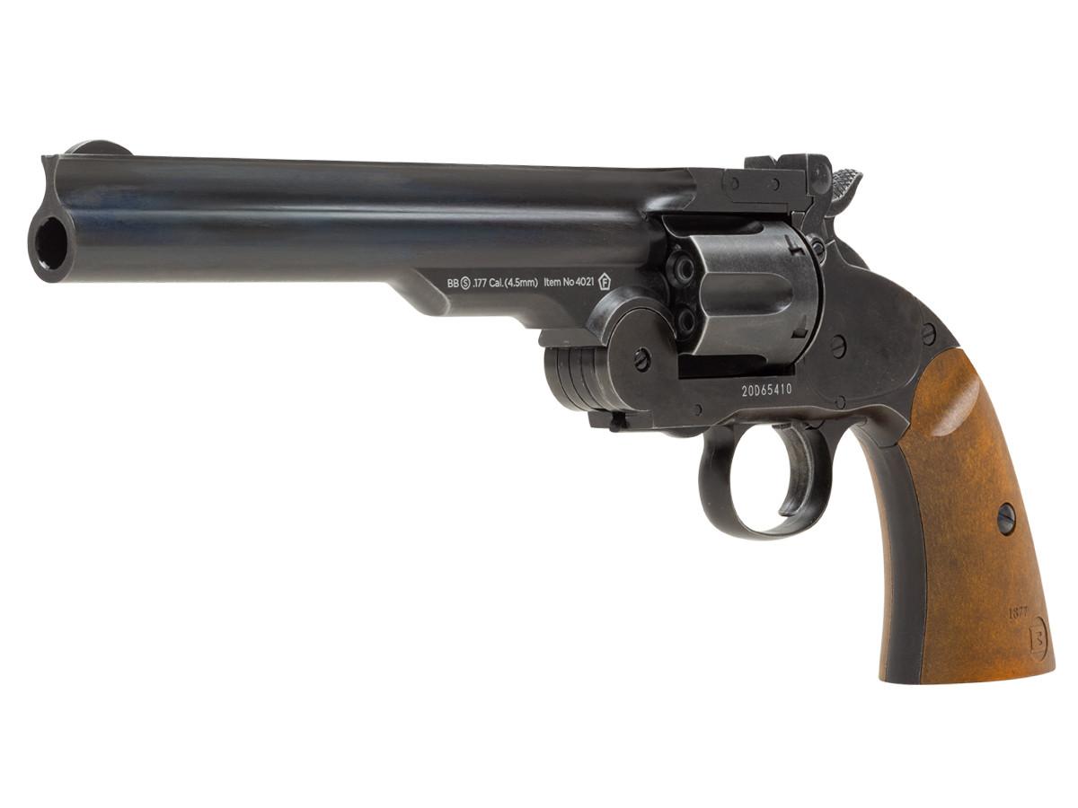 """Barra Schofield No.3 Aged CO2 BB Revolver, 7"""""""