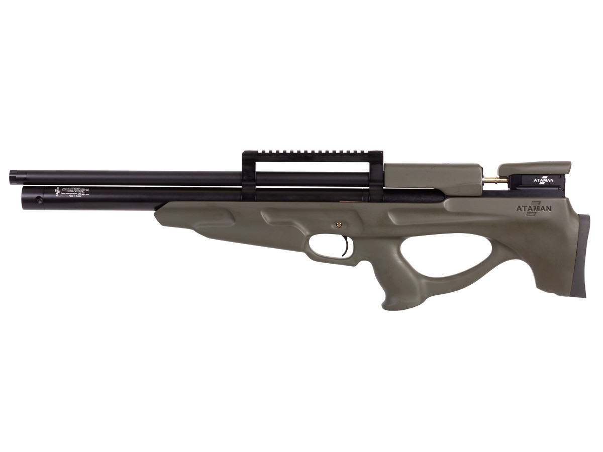 Ataman M2R Bullpup, Type 2, Olive Soft Touch Stock Air Rifle