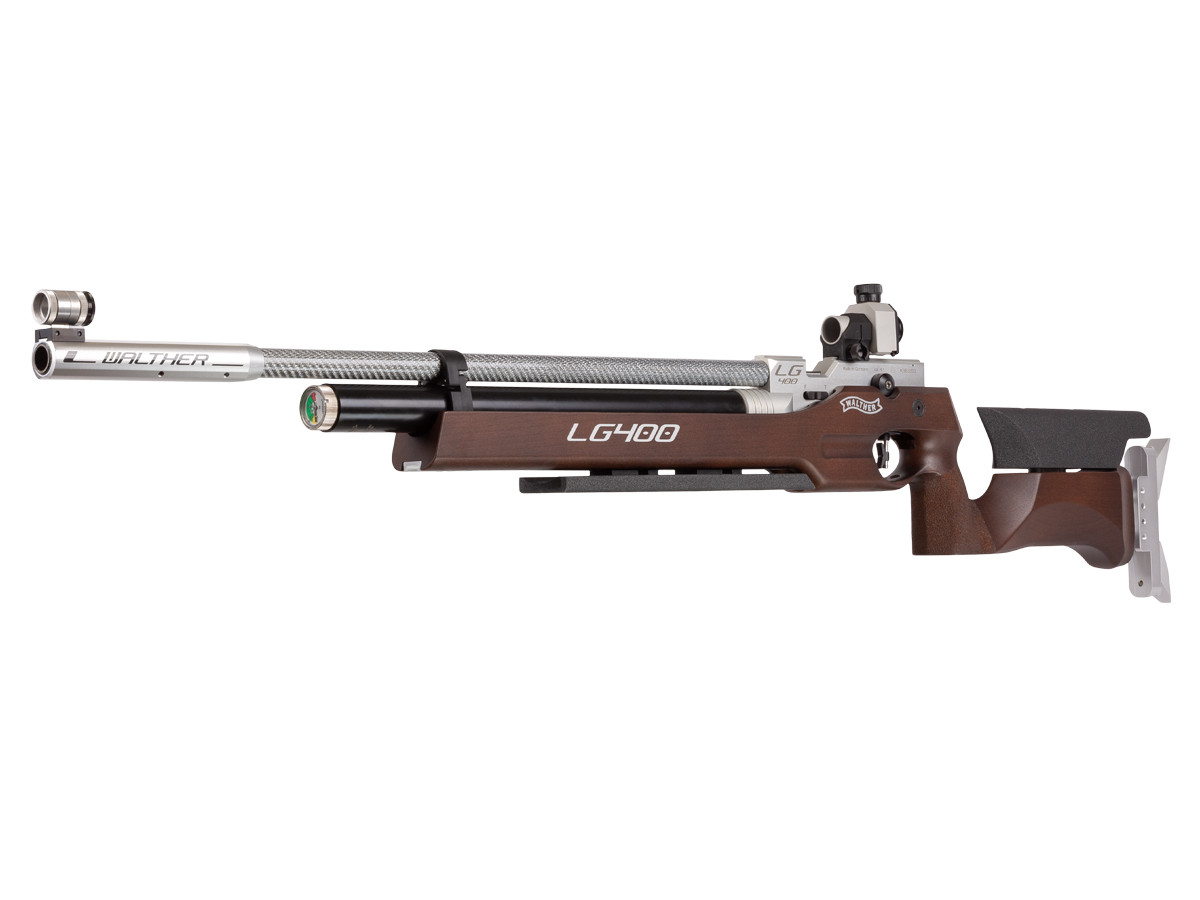 Walther LG400 Air Rifle, Wood Stock