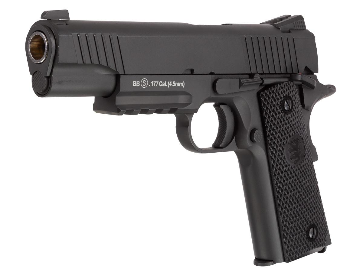 Barra 1911 Tactical Blowback CO2 BB Pistol 0.177