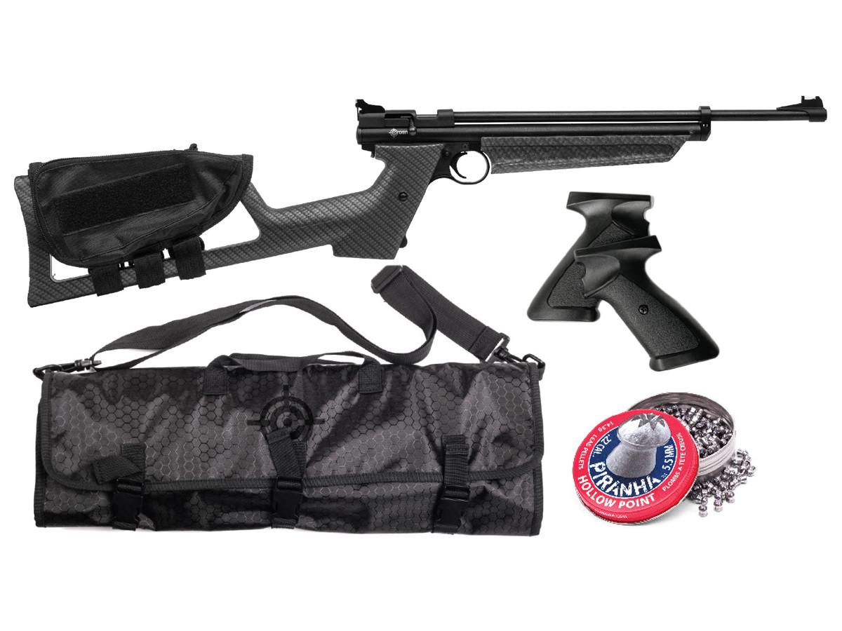 Crosman Drifter Multi-Pump Pellet Pistol/Rifle Kit