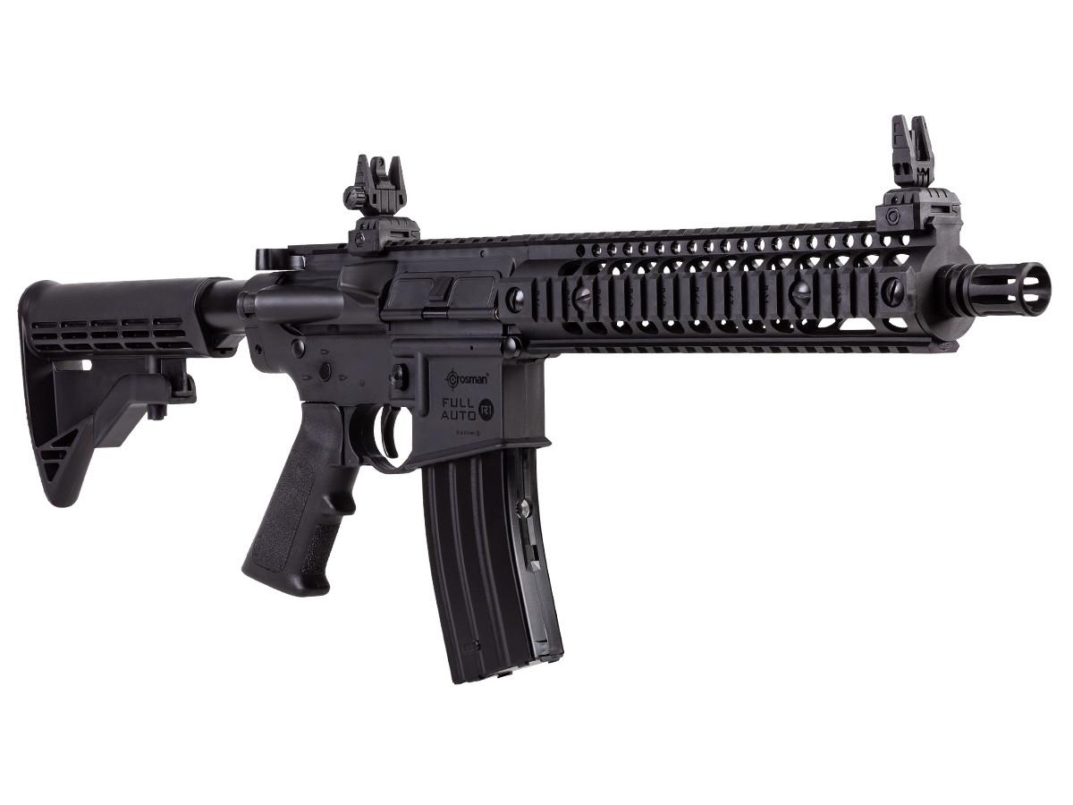 Crosman R1 Full Auto BB Air Rifle, Black