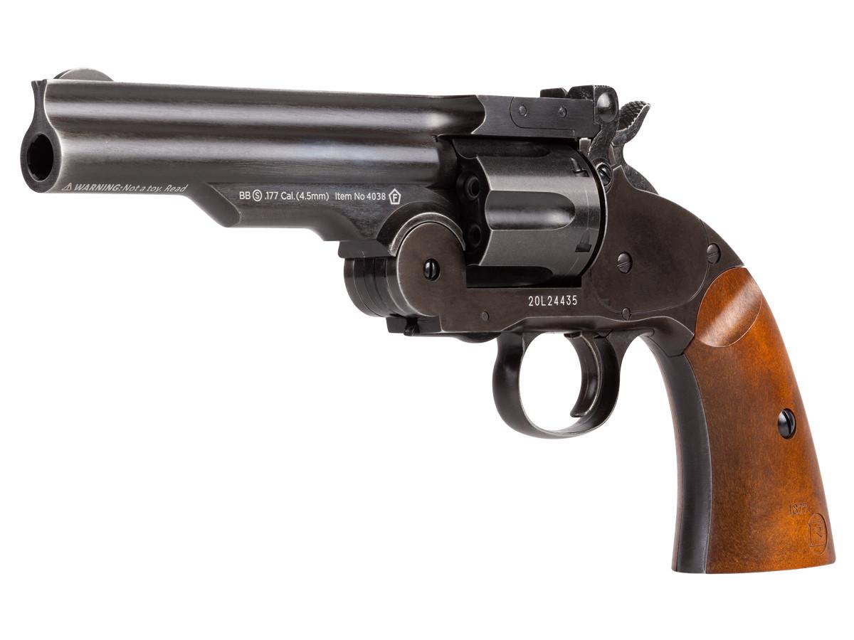"""Schofield No. 3 Aged CO2 BB Revolver, 5"""" Barrel"""