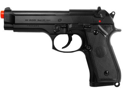 UHC 92 Spring Airsoft  Pistol, Black