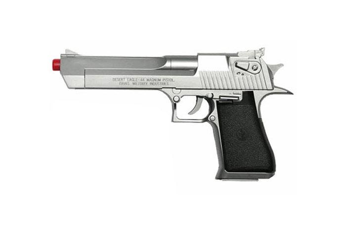 Desert Eagle .44 Magnum Spring Silver Pistol