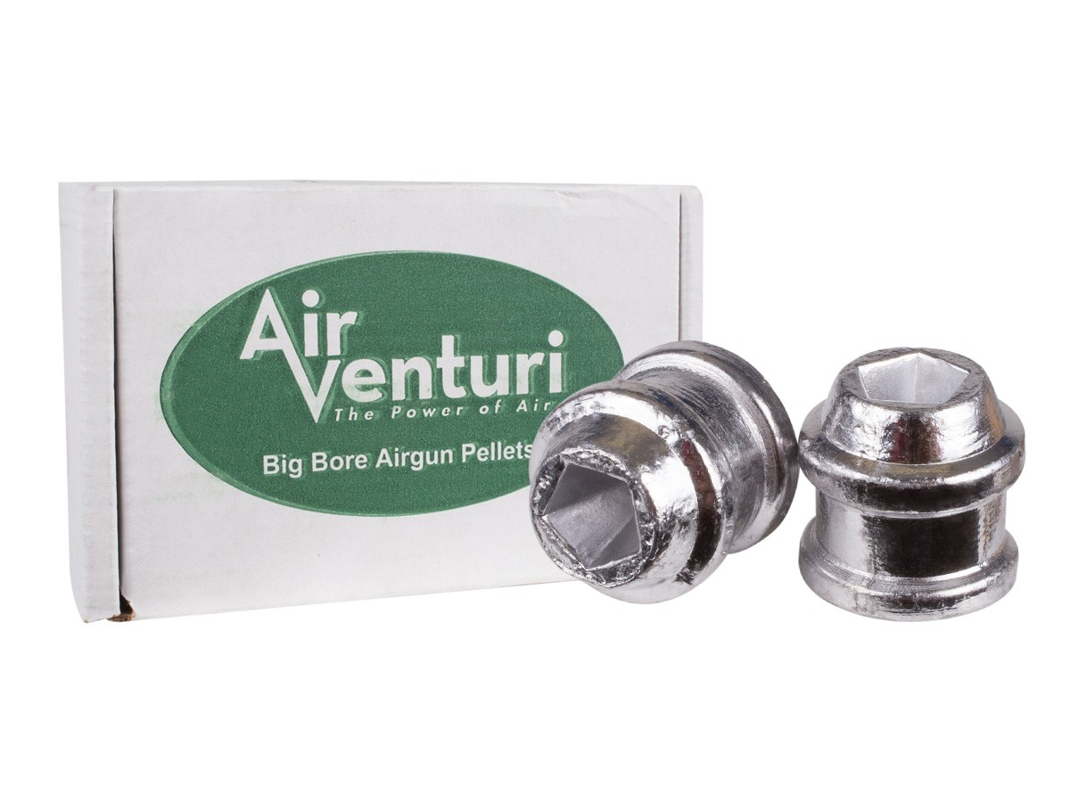 Air Venturi .50 Cal, 185 Grains, Hollowpoint, 50ct