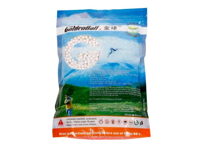 GoldenBall 0.20g Airsoft BBs, 4000 Rds, White