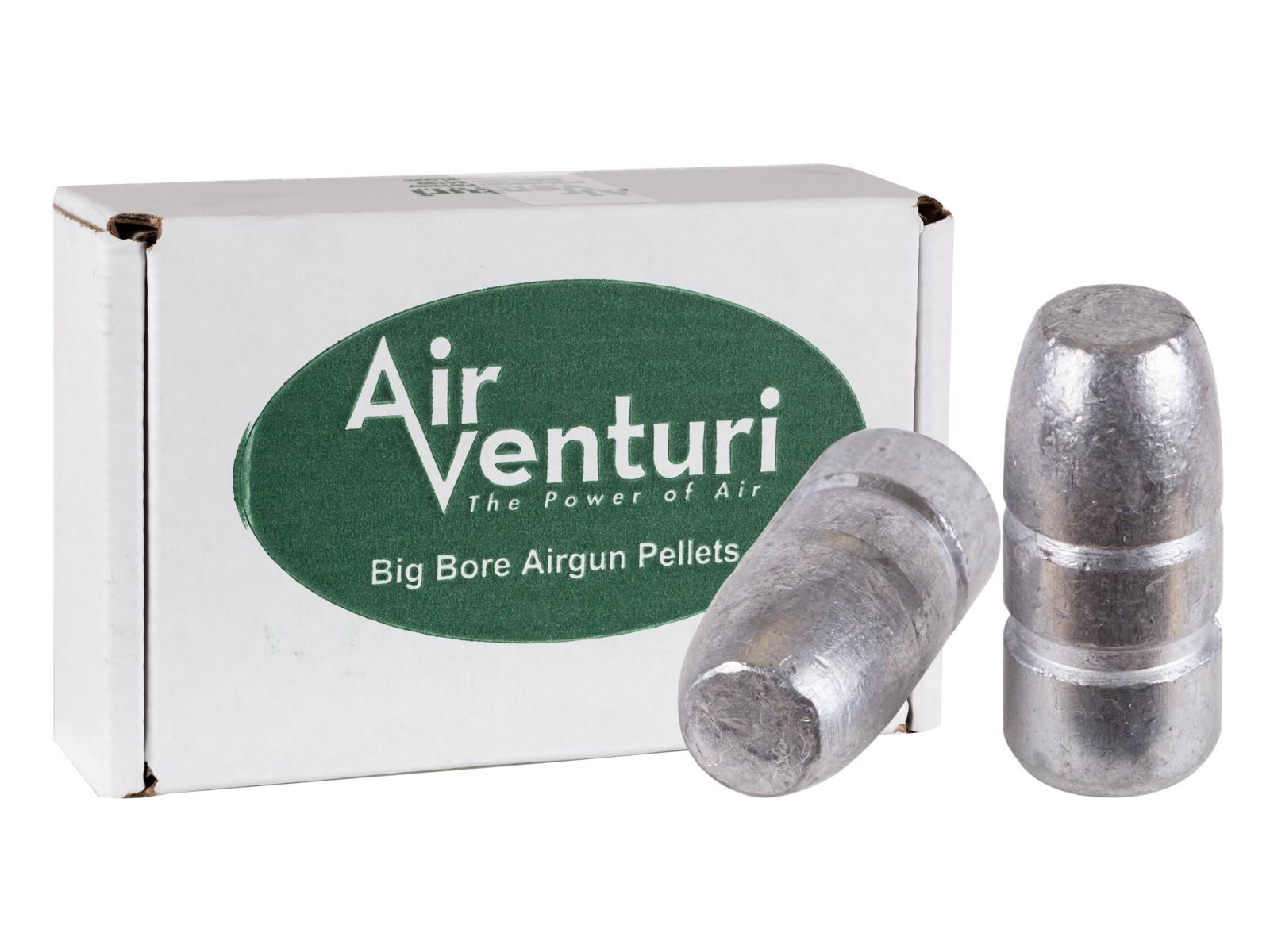 Air Venturi .45 Cal, 411 Grains, Flat Point, 50ct