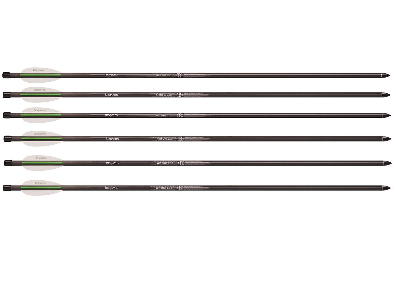 Benjamin 26 Pioneer Airbow Arrows, 6 pack