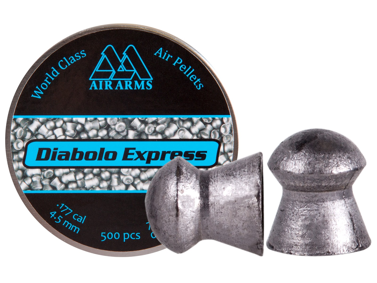 Air Arms Diabolo Express .177 Cal, 7.87 Grains, Domed, 500ct
