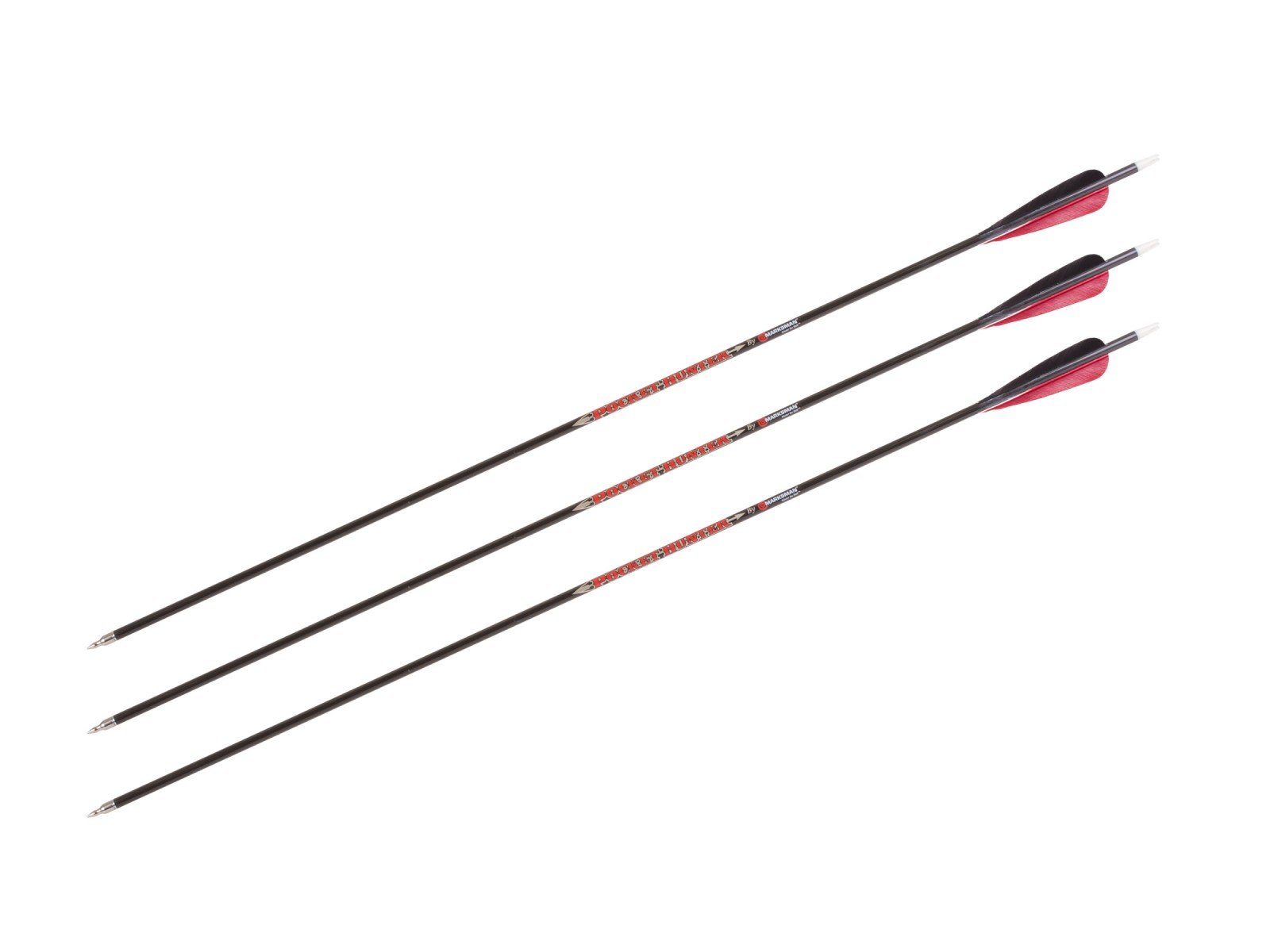 "Marksman Pocket Hunter 31"" Carbon Arrows, 3 pack"