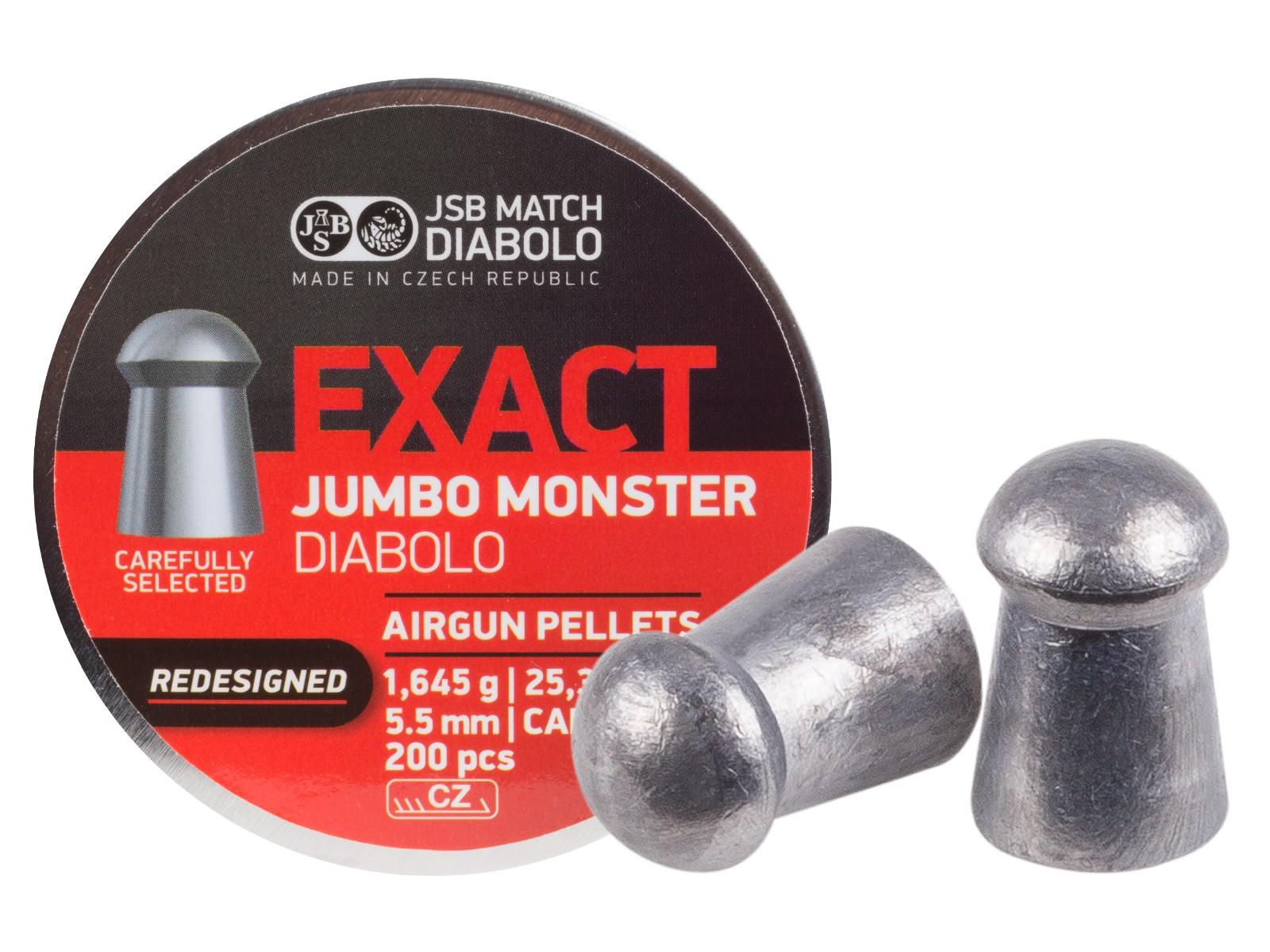 JSB Redesigned Monster Pellets .22  200 ct.
