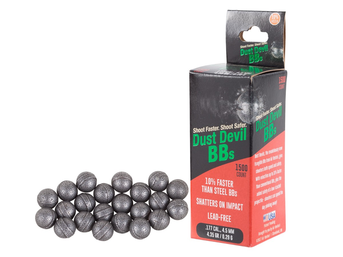 Air Venturi Dust Devil Frangible BBs, 1,500 ct.