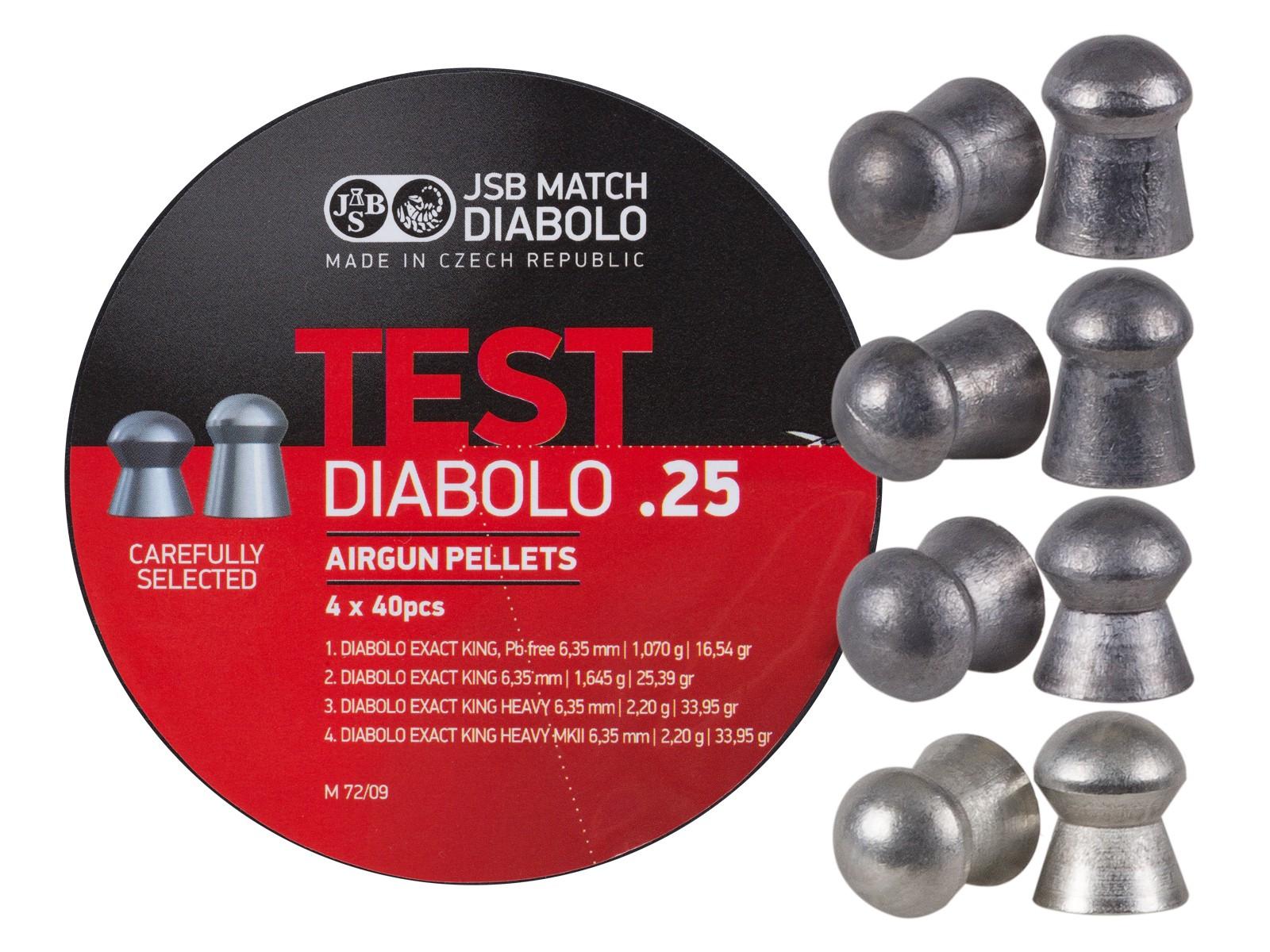 JSB Diabolo Test